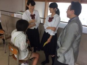 浅田先生も心配そうに拝見