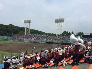 吹奏楽部♪野球応援!!