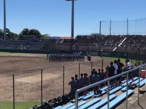 高校野球部 秋季大会西部地区予選