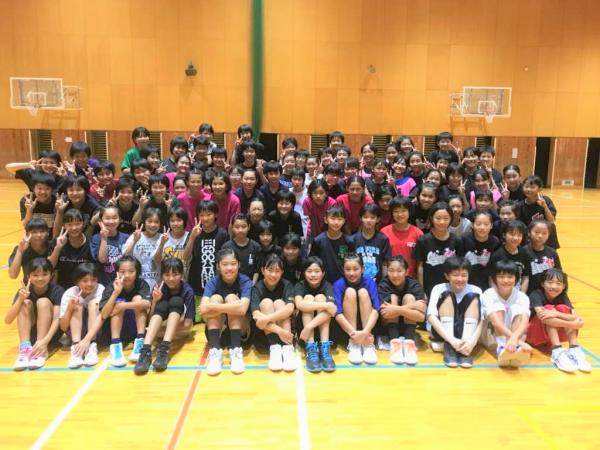 中学女子バスケット! 「サマーチャレンジ」報告