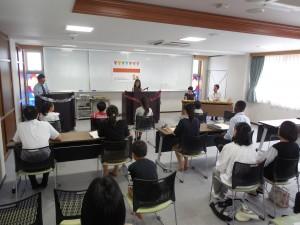 第1回 Kaiseikan Cup 英語スピーチコンテスト