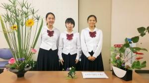 華道部:「Ikenobo花の甲子園東海地区【静岡県】大会」にて3位入賞!
