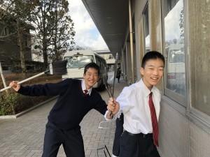 中学生徒会 朝の清掃活動