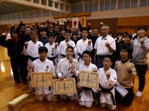 【空手道部】第13回 静岡県空手道連盟 中学校1・2年生空手道選抜大会