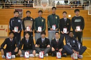 高校男子バスケット「新人戦県大会」結果報告