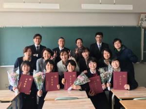 高校女子バスケット! 「卒業式&3送会」