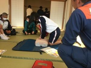 保健衛生委員会〜心肺蘇生法講習会を実施しました!〜 H31.2.21