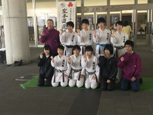 空手道部 【第38回全国高等学校 空手道選抜大会】