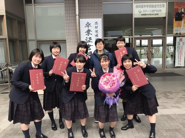 中学女子バスケット! 練習試合の結果&卒業&OG訪問
