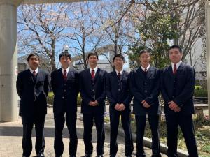 高校男子バスケット部 8期生入学しました!
