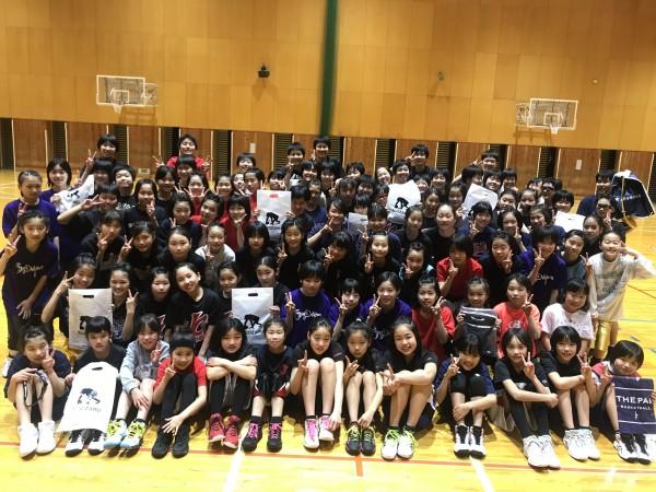 中学女子バスケット! チャレンジの報告