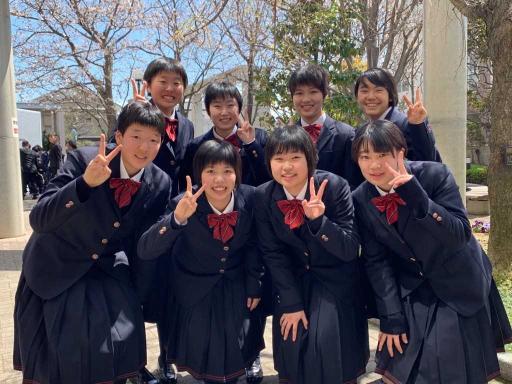高校女子バスケット! 入学式