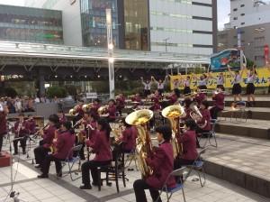 吹奏楽部 プロムナードコンサートに出演しました!