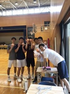中学女子バスケット! 「BBQと中体連県大会」の結果
