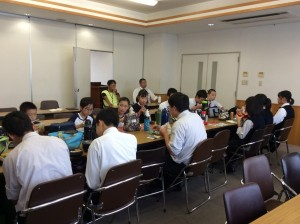 中・高合同 生徒会ランチミーティングを開きました!