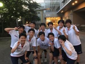 中学女子バスケット! 「東海大会」の結果