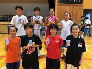 中学女子バスケット! 「ミニバス開誠館杯」開催