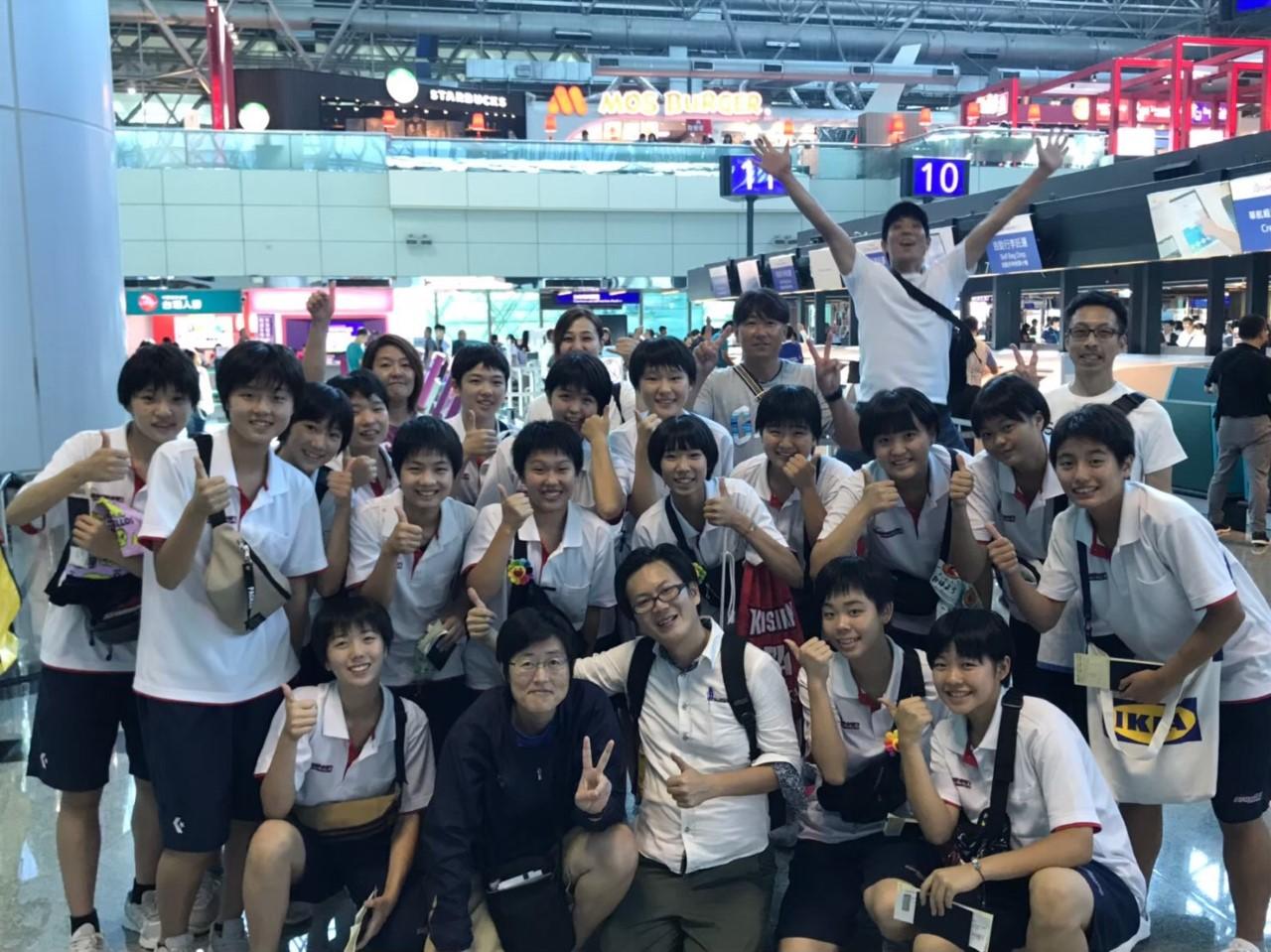 中学女子バスケット! 「台湾遠征」の報告