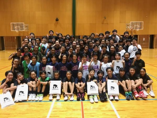 中学女子バスケット! 「サマーチャレンジ」の報告