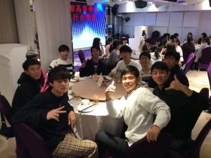 高校2年生研修旅行 台湾コース 1日目 台湾の地に降り立ちました!