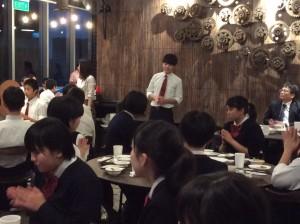 中学3年生シンガポール研修旅行 1日目