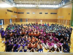 高校3年生 球技大会を行いました