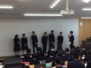 中学3年 シンガポール・マレーシア研修旅行発表会