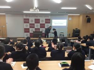 グローバルコース スピーチコンテスト