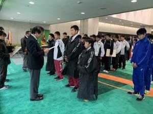 中学陸上部 西部駅伝競走大会 結果