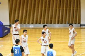 中学男子バスケットボール部U15「静岡県U15バスケットボール選手権プレ大会」の結果