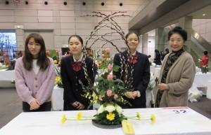 """華道部:""""花の都しずおか""""フラワーデザインコンテスト2020にて金銀銅の全賞を受賞!"""
