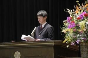 第22回浜松開誠館中学校卒業証書授与式