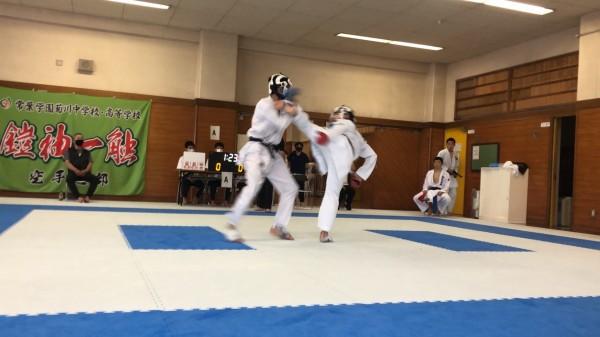 【空手道部】令和2年度 静岡県高等学校 初夏空手道強化練習会