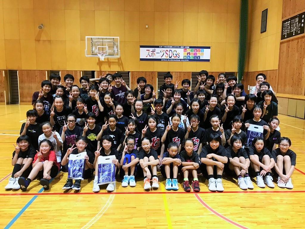 中学女子バスケット! 「チャレンジ」の報告