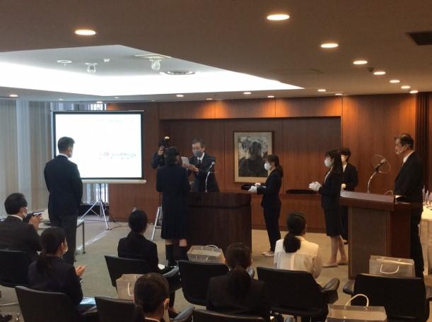 静岡新聞広告賞2020 審査員特別賞 授賞式に出席しました