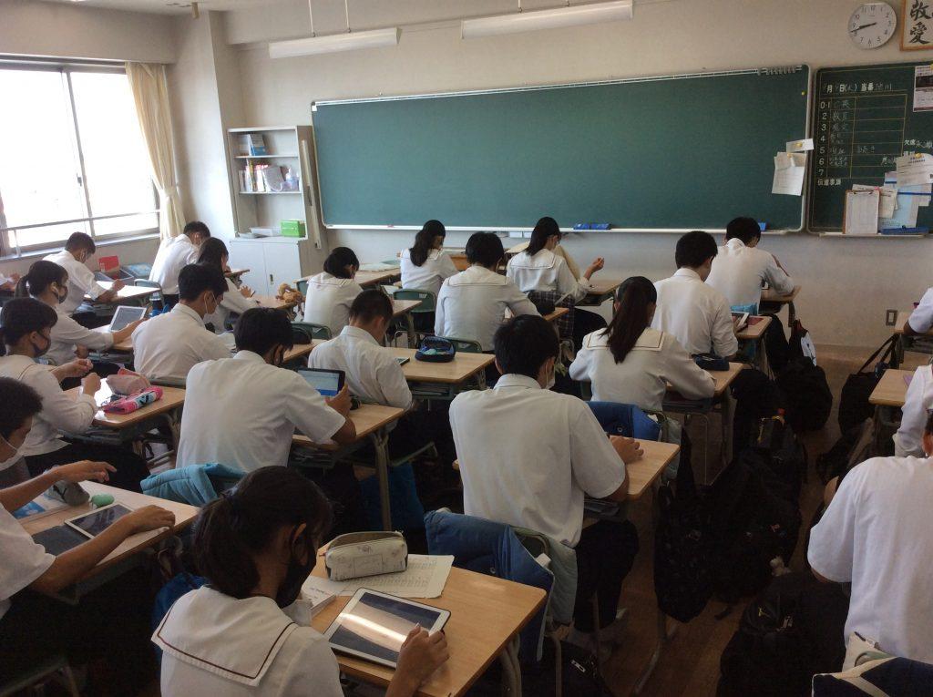 英語検定 全校受検を実施しました