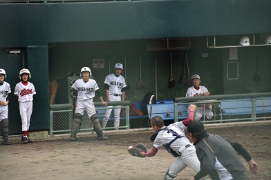 浜松地区中学校秋季野球大会 結果報告