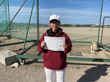 第11回浜松スポーツ交流杯(HSKカップ)ベストプレイヤー賞2名選出