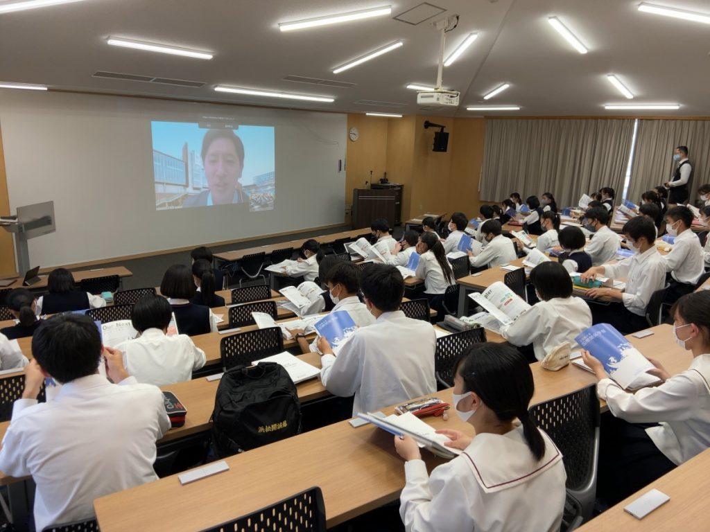 【グローバルコース】立命館大学説明会を学内実施しました