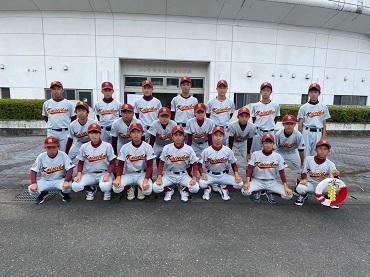 第74回静岡県中学校総合体育大会野球競技の部 結果報告