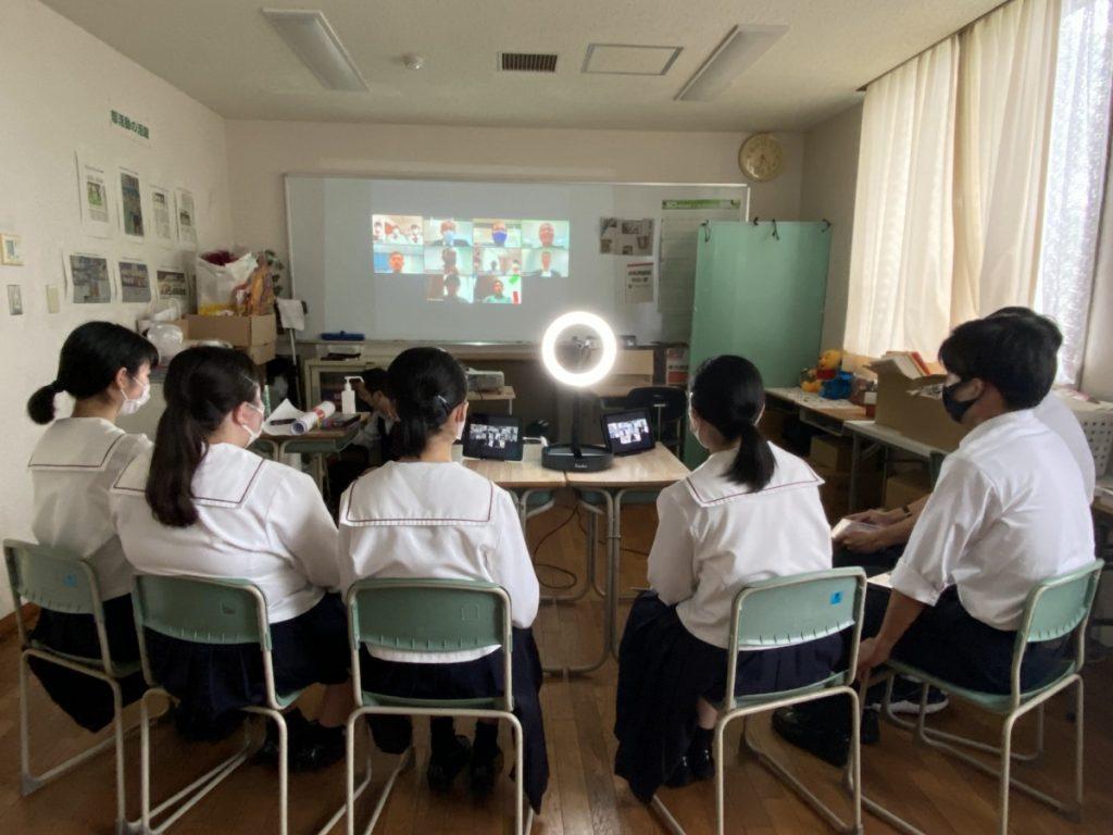 【SDGs部】コカ・コーラ ボトラーズジャパン(株)とオンライン会議を行いました。